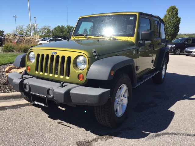 Lovely Pre Owned 2008 Jeep Wrangler Unlimited X   SOFT TOP
