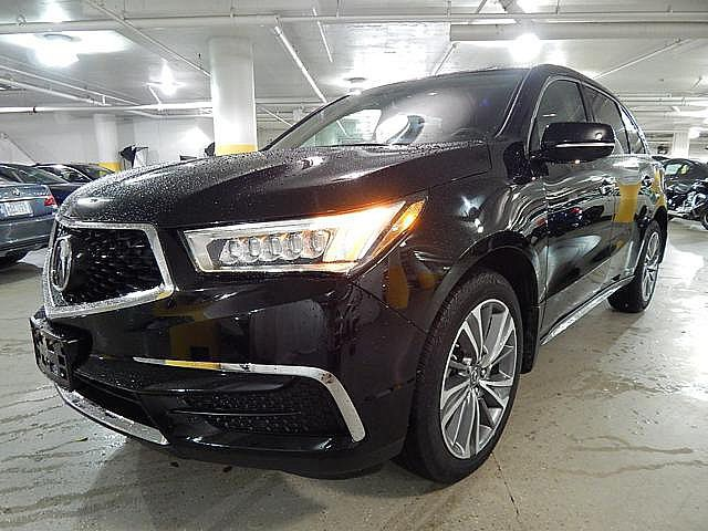 Pre Owned 2017 Acura Mdx Wtechnology Pkg Suv In Merriam Hb022577
